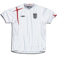2005-07 England Umbro Home Football Shirt