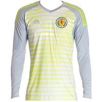 2018-19 Scotland Adidas Home Goalkeeper Shirt (Kids)