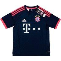 2015-16 Bayern Munich Adidas Third Football Shirt