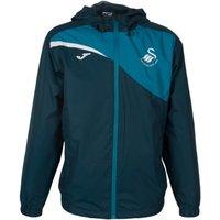 2017-18 Swansea City Joma Allweather Jacket (Petrol)