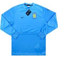 2009-10 Aston Villa Nike Training Top (Aqua)