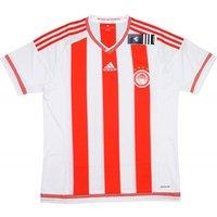 2015-16 Olympiakos Adidas Home Football Shirt