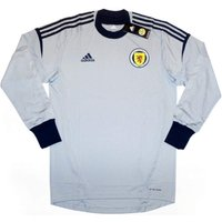 Scotland 2011-13 Authentic Goalkeeper Home Football Shirt