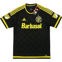 2015-16 Columbus Crew Adidas Home Authentic Football Shirt