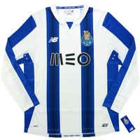 2016-17 FC Porto Home Long Sleeve Football Shirt