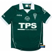 2014-15 Santiago Wanderers Mitre Home Football Shirt