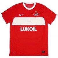 2011 Spartak Moscow Nike Home Authentic European Football Shirt