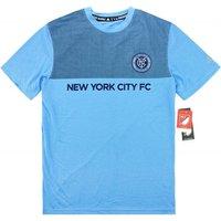 2015-16 New York City Adidas Leisure Tee (Blue)