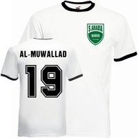 Fahad Al-muwallad Saudi Arabia Ringer Tee (white-black)