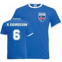 Ragnar Sigurdsson Iceland Ringer Tee (blue)