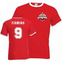 Roberto Firmino Liverpool Ringer Tee (red)