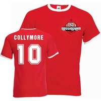 Stan Collymore Nottingham Forest Ringer Tee (red)
