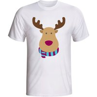Aston Villa Rudolph Supporters T-shirt (white)