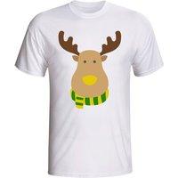Brazil Rudolph Supporters T-shirt (white)