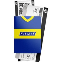 Boca Juniors 1990 Retro Passport Holder