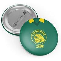 Zaire Retro Button Badge