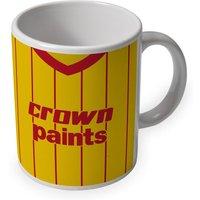 Liverpool 1982 Away Retro Ceramic Mug
