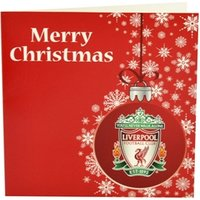 Liverpool Xmas Cards (baubles)