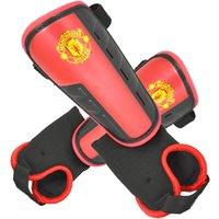 Man Utd Ankle Strap Shinguard-youth's