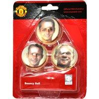 Man Utd Bouncy Ball Set