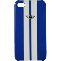 Mini Cooper Stripe Hard Case For Iphone 4/4s (mnhcp4stna)