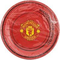 Man Utd Party Plates