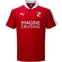2015-2016 Swindon Town Home Football Shirt