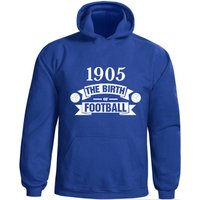 Chelsea Birth Of Football Hoody (blue)