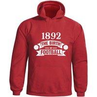 Liverpool Birth Of Football Hoody (red)