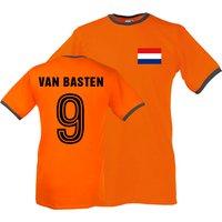 Marco Van Basten Holland Ringer Tee (orange)