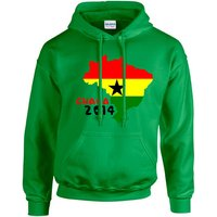 Ghana 2014 Country Flag Hoody (green) - Kids
