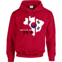 South Korea 2014 Country Flag Hoody (red)