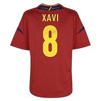 2012-13 Spain Home Shirt (Xavi 8)