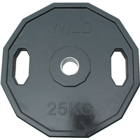 25kg Rubber Coated Cast Iron Olympic Disc