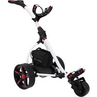 Hillman Commander Electric Golf Trolley White With 25Ah Lithium Battery