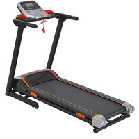 LONTEK F15 Motorised Folding Running Treadmill