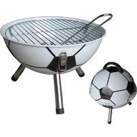 Goodesmith Football Charcoal Barbecue