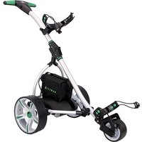 Hillman GT Endurance Golf Trolley Green with 16Ah Lithium Battery