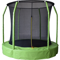 Air League 12ft In Ground Sunken Trampoline With Safety Enclosure