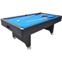 Walker & Simpson Captain 6ft Slate Bed Pool Table