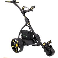 Hillman Pro Kart Electric Golf Trolley Yellow With 16Ah Lithium Battery
