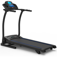 BodyTrain Speed Motorised Folding Running Treadmill