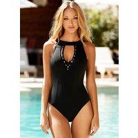 Amoressa Freedom High Neck Keyhole Swimsuit