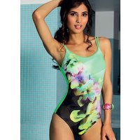 Acqua & Sale Exotic Round Neck Swimsuit