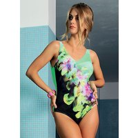 Acqua & Sale Exotic V Neck Swimsuit