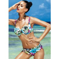 Click to view product details and reviews for David Lady Club Blu Balconette Bikini.