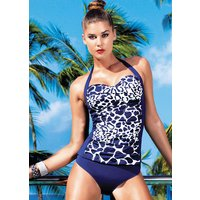 David Lady Club Navy Halterneck Tankini