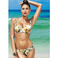 Click to view product details and reviews for David Lady Club Sabbia Print Balconette Bikini.