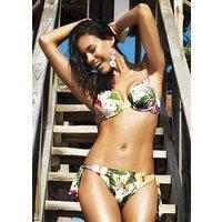Click to view product details and reviews for David Lady Club Sabbia Print Push Up Bikini.