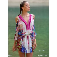 Click to view product details and reviews for Forever Unique Dominica Short Kaftan.
